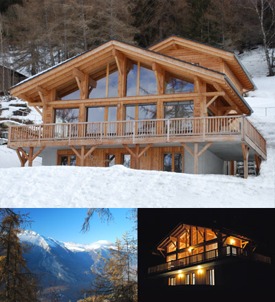 Chalet Chambord ski retreat in Nendaz, Switzerland